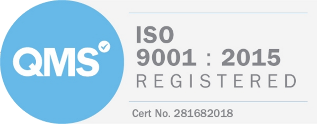 QMS - ISO 9001 : 2015 Registered