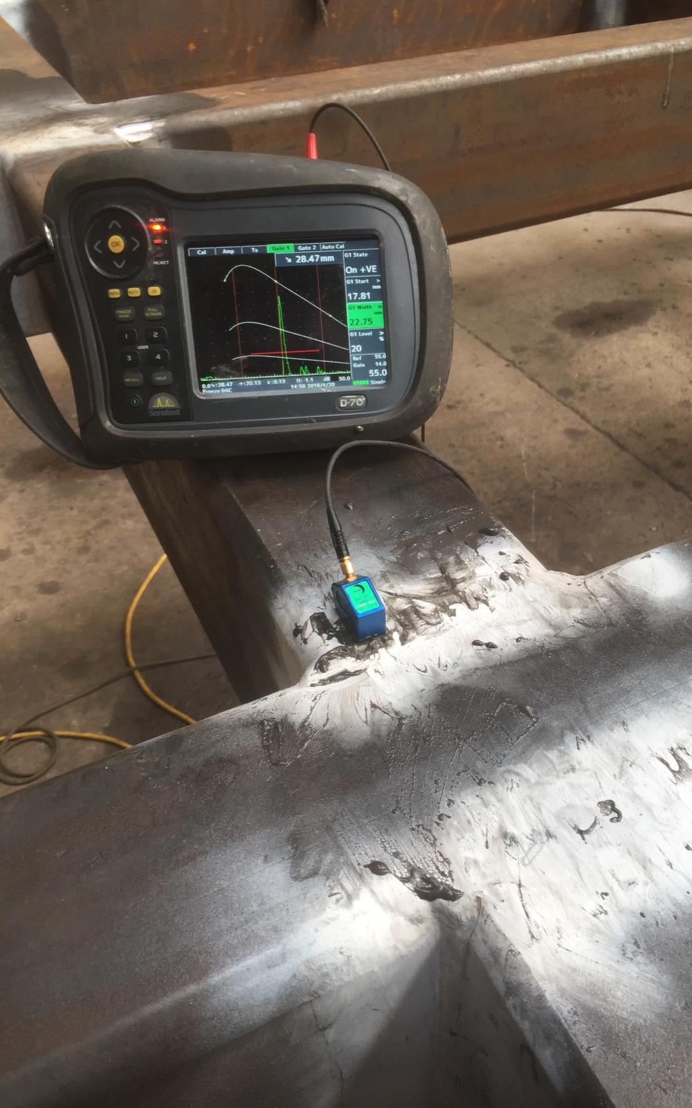 Ultrasonic Testing of Welds Scotland and the UK